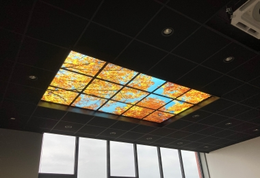 LED panelen met foto, afm. 600 x 600 mm
