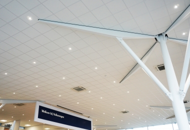 Rockfon Pallas, afm. 600 x 600 mm Rockfon plafondpanelen, type Pallas, afm. 600 x 600 mm