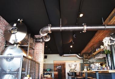 Rockfon plafondpanelen, type Charcoal verdekt, afm. 600 x 600 mm