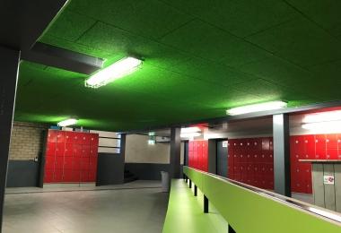 Heradesign plafondpanelen in kleur gespoten, afm. 600 x 1200 mm