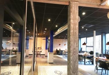 Rockfon plafondpanelen, type Cinema, afm. 600 x 600 mm