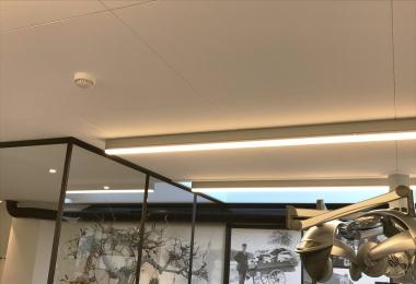 Rockfon plafondpanelen, type Blanka verdekt, afm. 900 x 900 mm